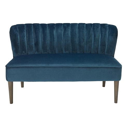 Bella 2 Seater Sofa - Midnight Blue