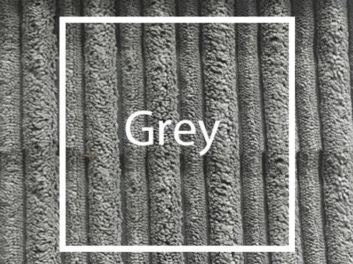 Grey Cord Fabric Sample