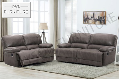 HARRY Recliner 3+2 Sofa Set - Faux Leather