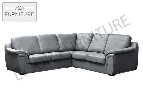 AMELIA Corner Sofa - Full Back - Faux Leather