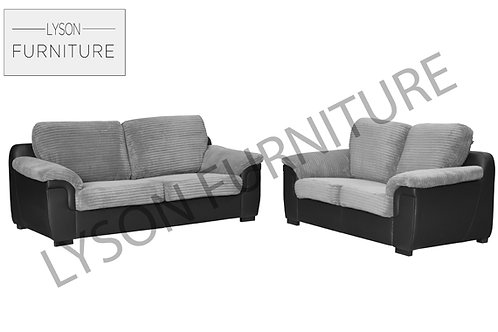AMELIA 3+2 Sofa Set - Full Back - Fabric