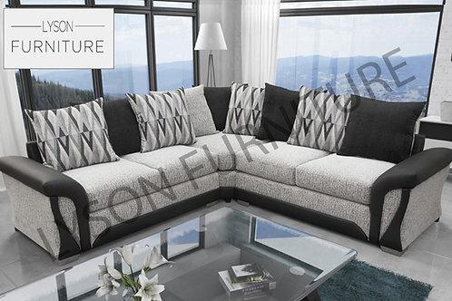 SHIRLEY NEW Corner Sofa I Sofa Set - Scatter Cushion - Fabric