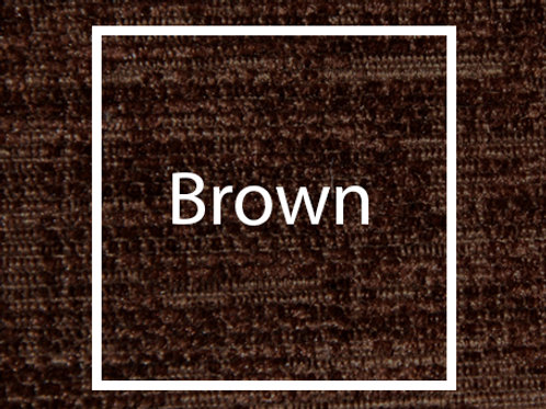 Brown Chenille Fabric Sample