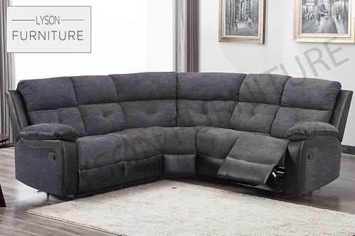MIKE Recliner Corner Sofa - Fabric