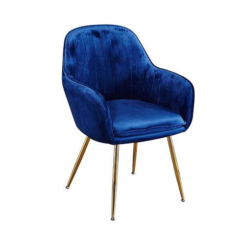 Lara Dining Chair - Royal Blue Set of 2