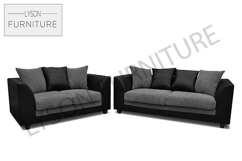 ANDY 3+2 Sofa Set - Scatter Cushion - Fabric
