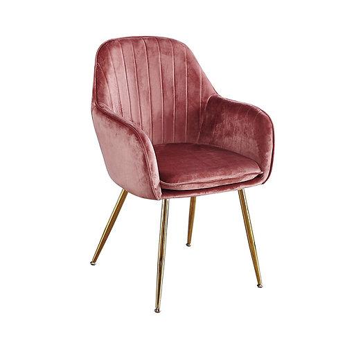Lara Dining Chair - Vintage Pink Set of 2