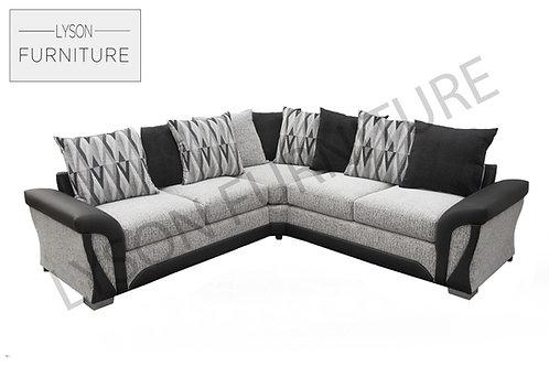 SHIRLEY  Corner Sofa - Scatter Cushion - Fabric