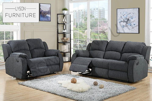 FRANK Recliner 3+2 Sofa Set - Fabric