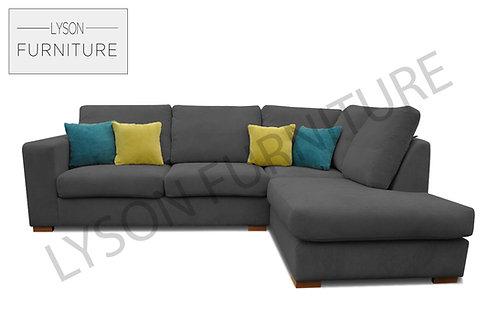 MELINDA Corner Sofa - Full Back - Fabric