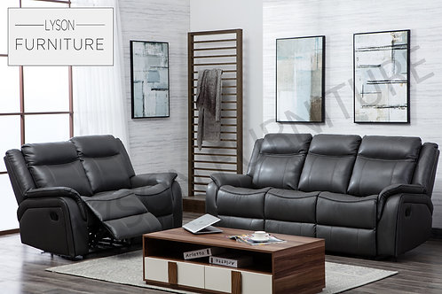 HENRY Recliner 3+2 Sofa Set - Faux Leather