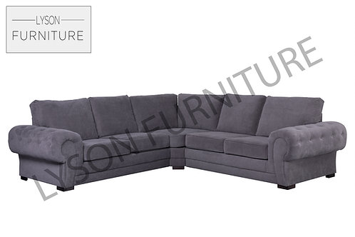 VICTORIA Corner Sofa - Full Back - Fabric