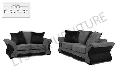 CLEO 3+2 Sofa Set - Scatter Cushion - Fabric