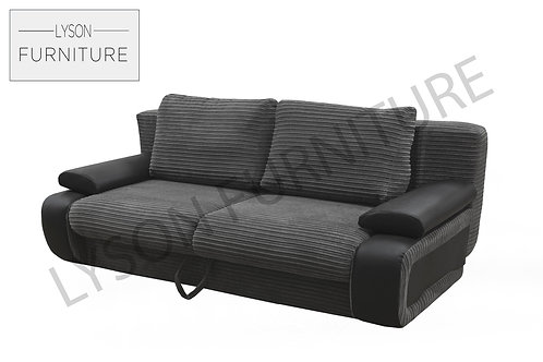VICTOR Sofa Bed - Full Back - Fabric