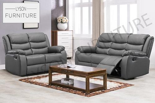 WINSTON Recliner 3+2 Sofa Set - Faux Leather