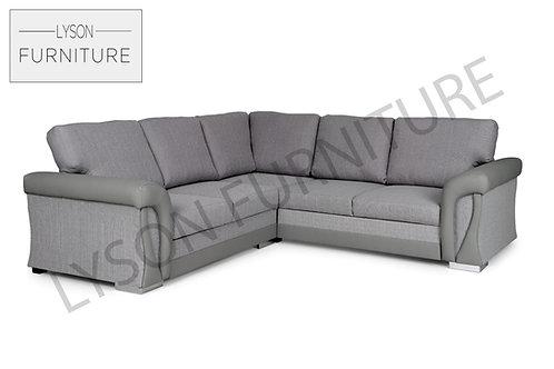 VERA Corner Sofa Bed - Full Back - Fabric
