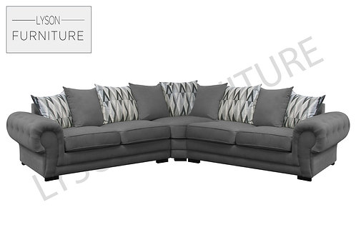 VICTORIA NEW Corner Sofa - Scatter Cushion - Fabric