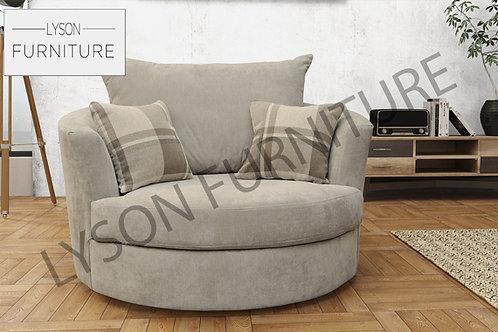 Swivel Chair - Fabric