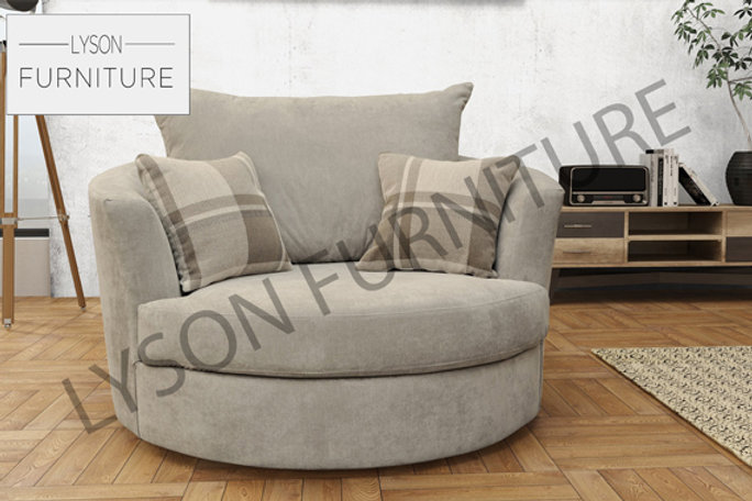 Pleasant Swivel Cuddle Chair Fabric Gmtry Best Dining Table And Chair Ideas Images Gmtryco
