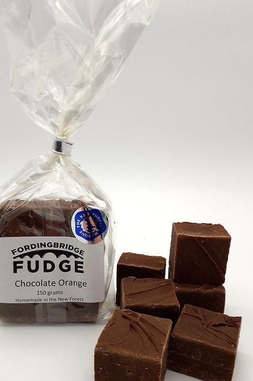 Chocolate Orange Fudge - 150g Bag