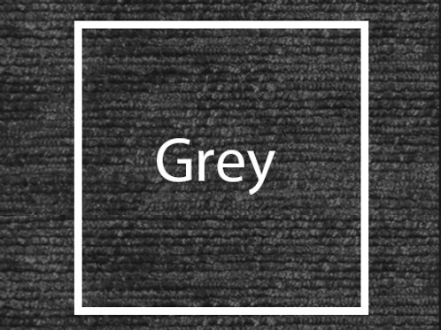 Grey Chenille Fabric Sample