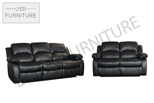 Recliners 3+2 Sofa Set Bonded Leather