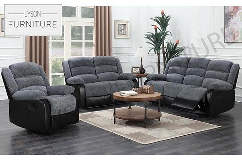 DAISY Recliner 3+2 Sofa Set - Fabric