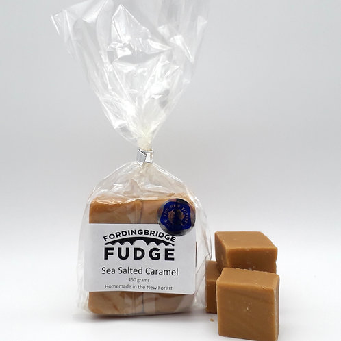 Sea Salted Caramel Fudge - 150g Bag
