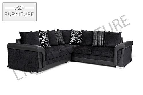 VERA Corner Sofa Bed - Scatter Cushion - Fabric