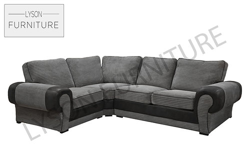 TREVOR Corner Sofa - Full Back - Fabric