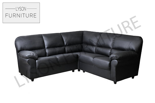 CRYSTAL Corner Sofa - Full Back - Faux Leather