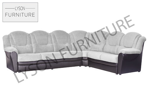 TOMAS NEW Corner Sofa - Full Back - Fabric