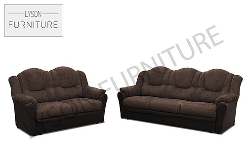 TOMAS 3+2 Sofa Set - Full Back - Fabric
