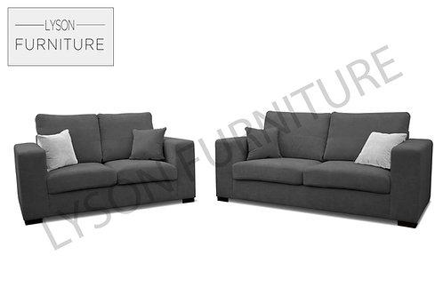 MELINDA 3+2 Sofa Set - Full Back - Fabric