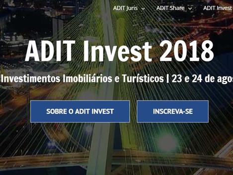 Seminário sobre Investimentos Imobiliários e Turísticos | 23 e 24 de agosto - São Paulo/SP