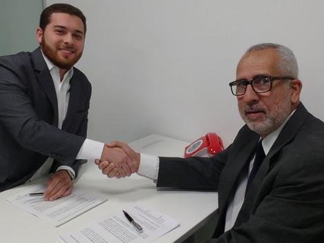 Fotos do Workshop do dia 25/05/2018. Parceria firmada entre o IBEI e AJA.