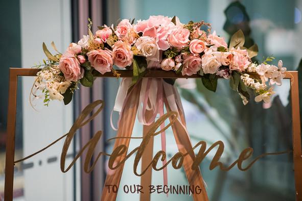A Cafe Affair - Wedding Solemnisation of Raymond & Sheryl @ Cafe Melba