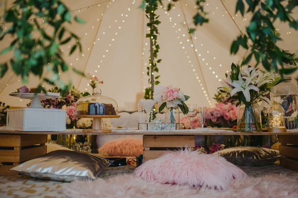 Romantic Glamping Proposal