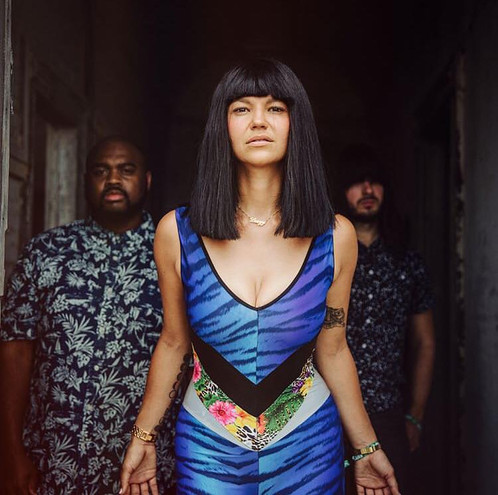 """Over the last decade, Khruangbin (pronounced """"krung-bin"""") has mastered the art of setting a mood, of creating atmosphere. But on Mordechai, follow-up to their 2018 breakthrough Con Todo El Mundo, the Houston trio makes space in their globe-spinning psych-funk for something that's been largely missing until now: vocals. The result is their most direct work to date. From the playground disco of """"Time (You and I)"""" to the Latin rhythms of """"Pelota""""—inspired by a Japanese film, but sung in Spanish—to the balmy reassurances of """"If There Is No Question,"""" much of Mordechai has the immediacy of an especially adventurous pop record. Even moments of hallucinogenic expanse (""""One to Remember"""") or haze (""""First Class"""") benefit from the added presence of a human voice. """"Never enough paper, never enough letters,"""" they sing from inside a shower of West African guitar notes on """"So We Won't Forget,"""" the album's high point. """"You don't have to be silent."""""""