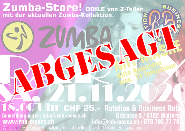 ZUMBA PARTY_MALTERS_RNB_NOVEMBER_ABGESAG