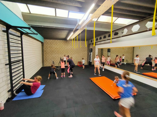 Outdoor Training Special Event Kids and Friends/Familie