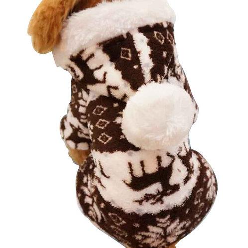 Christmas Series Pet Clothes Dog Apparel for Winter S [E]