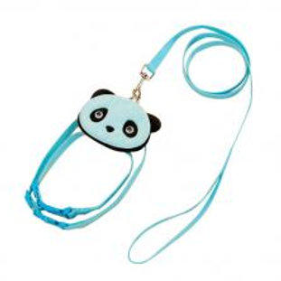 Cute Pet Leashes For Dog Puppy Pet Cartoon Bag Walking Leash BLUE