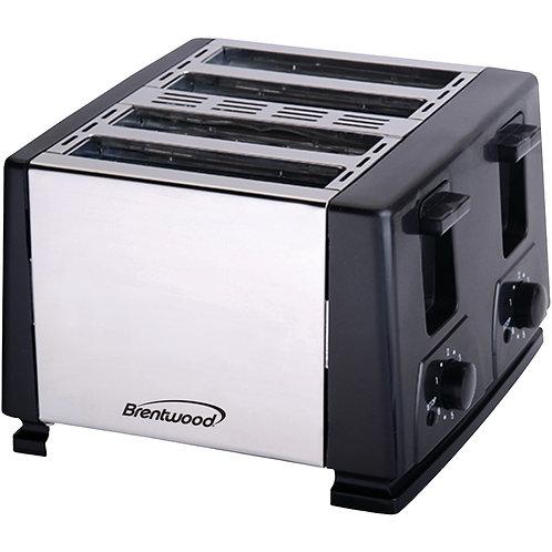 Brentwood 4-Slice Toaster (Black)