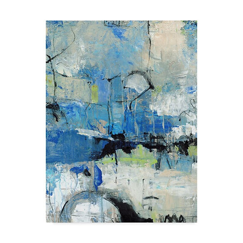 'Spontaneous II' Acrylic Painting Print on Wrapped Canvas
