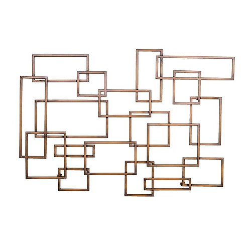 Abstract Rectangles Wall Décor