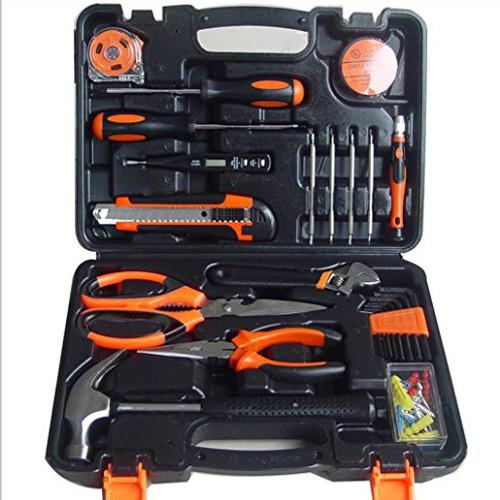 Hi Tech 45 Piece Homeowners Tool KitGeneral Household Hand Set Hardware T