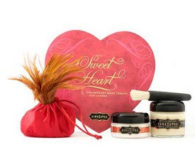 Kama Sutra Sweet Heart Box Strawberry