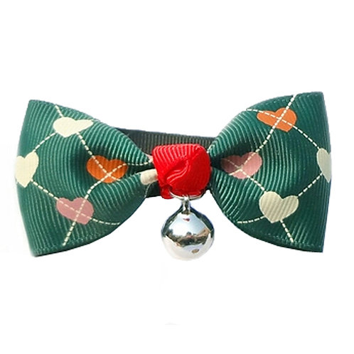 Adjustable Dog Leash Puppy Collars Dog/Cat Bow Ties Pet Collars