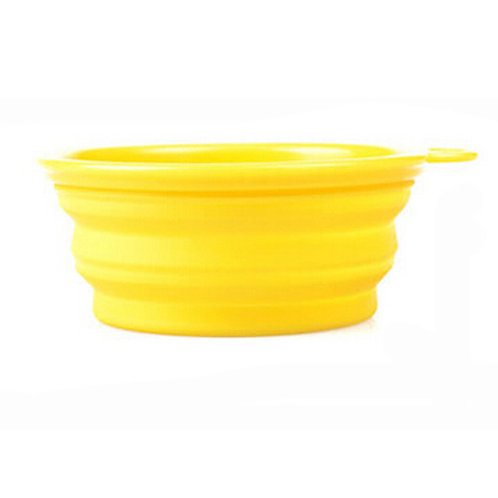 Pet Supplies for Dogs Collapsible Bowls Food Grade Silicon Bowls For Outdoors